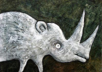 Bílý nosorožec